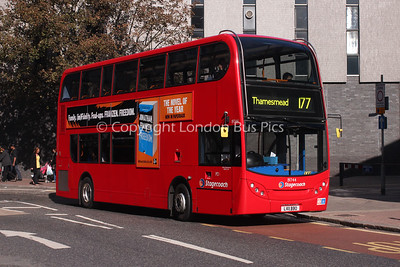 Route 177 - 19744, LX11BBO, Stagecoach in London