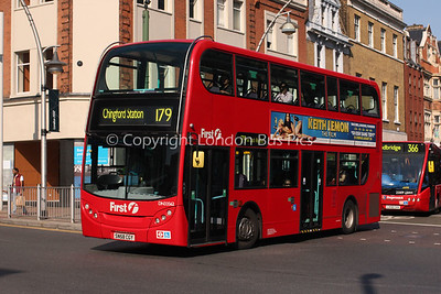 Route 179 - DN33562, SN58CGY, First London