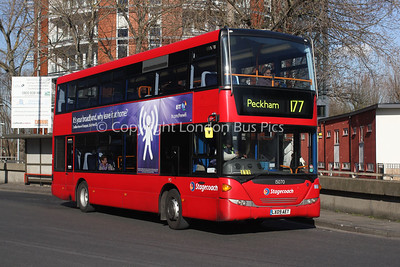 Route 177 - 15070, LX09AET, Stagecoach in London