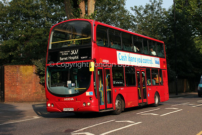Route 307 - VLW57, LF02PTO, Arriva London North