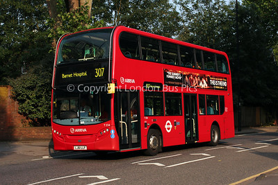 Route 307 - T234, LJ61LLF, Arriva London North
