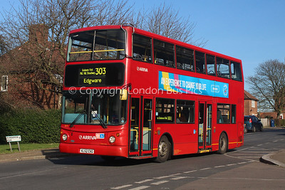 Route 303 - 6015, KL52CXG, Arriva The Shires