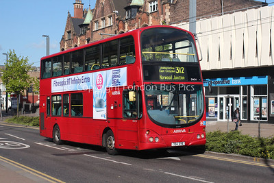 Route 312 - DW34, 734DYE, Arriva London South