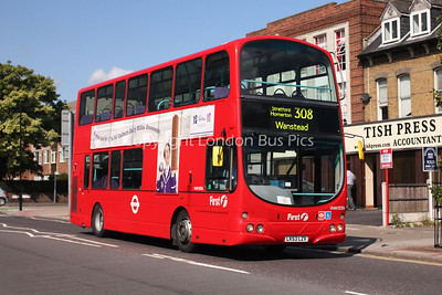 Route 308 - VNW32356, LK53LZV, First London