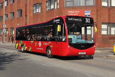 Route 312 - EMC8, LK15FKH, Arriva London South