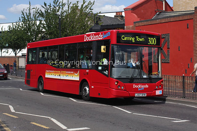 Route 300 - ED11, LX07BYM, Dockland Buses