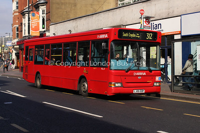 Route 312 - PDL17, LJ05GOP, Arriva London South