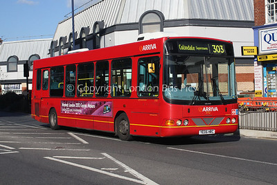Route 303 - 3712, YE06HRC, Arriva The Shires