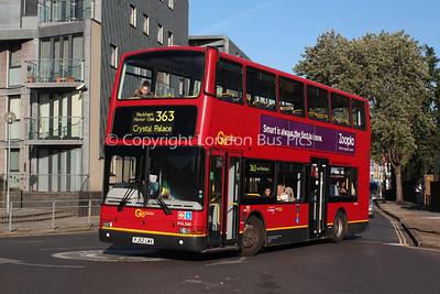 Route 363 - PVL340, PJ52LMV, London Central
