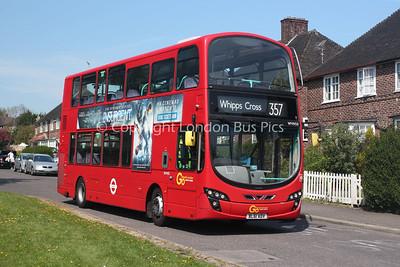Route 357 - WVN50, BL61ADV, London General