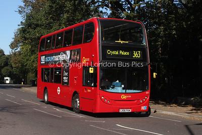 Route 363 - E37, LX06FKM, London Central