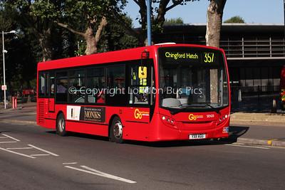 Route 357 - SEN20, YX11AGU, London General