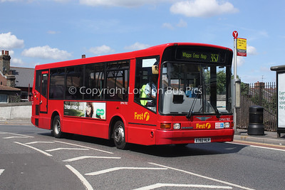 Route 357 - DM41782, X782HLR, First London
