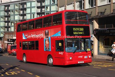 Route 350 - 9772, YN51KWG, Abellio London