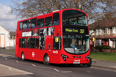 Route 357 - VN37948, BL61ADV, First London