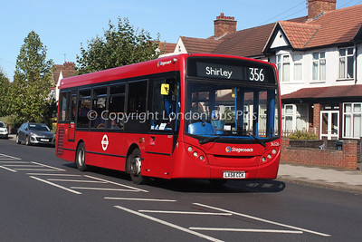 Route 356 - 36326, LX58CCK, Stagecoach London