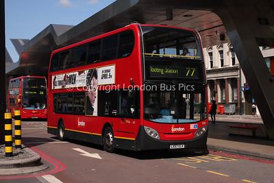 Route 77 - E92, LX57CLV, London General