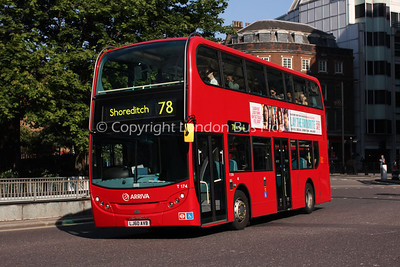 Route 78 - T174, LJ60AVB, Arriva London North