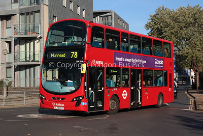 Route 78 - DW518, LJ13CCZ, Arriva London North