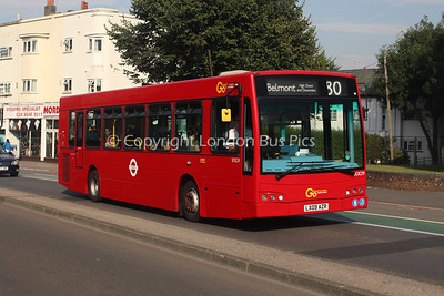 Route 80 - SOE29, LX09AZR, London General