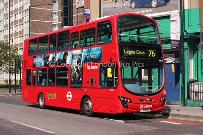 Route 76 - HV15, LJ60AWF, Arriva London North
