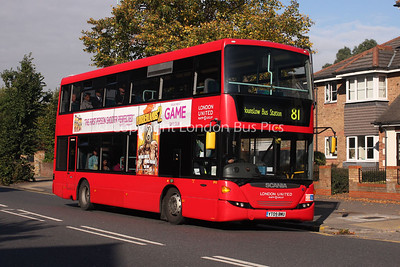 Route 81 - SP43, YT09BMU, London United
