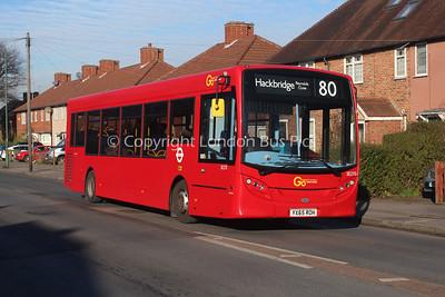 Route 80 - SE270, YX65ROH, London General