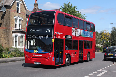 Route 75 - 12269, SN14TWF, Stagecoach London