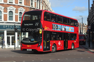 Route 77 - EH306, YX18KXU, London General