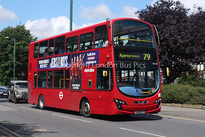 Route 79 - VW1183, LK11CXT, Metroline