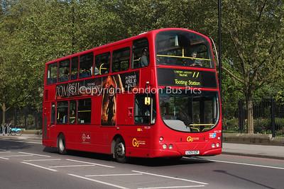 Route 77 - WVL209, LX05EZF, London General