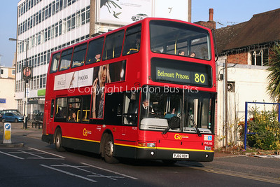 Route 80 - PVL293, PJ02RDY, London General