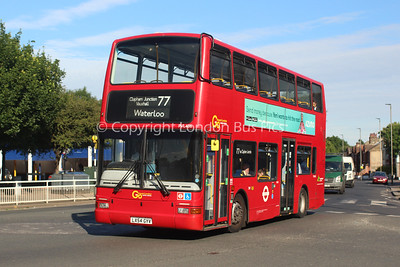 Route 77 - PVL408, LX54GYV, London General