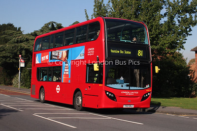 Route 81 - ADE28, YX12GHJ, London United