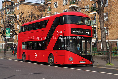 Route 76 - LT879, LTZ1879, London General