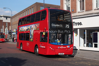 Route 75 - 10126, LX12DEU, Stagecoach in London