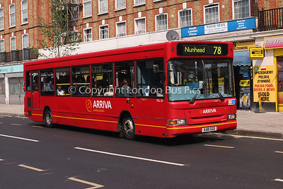 Route 78 - PDL30, X481GGO, Arriva London North