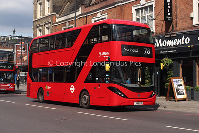 Route 78 - HA11, LK65BYM, Arriva London North