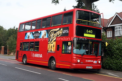 Route 640 - 6010, KL52CXB, Arriva The Shires