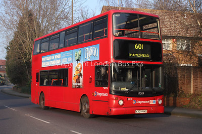 Route 601 - 17309, X309NNO, Stagecoach London