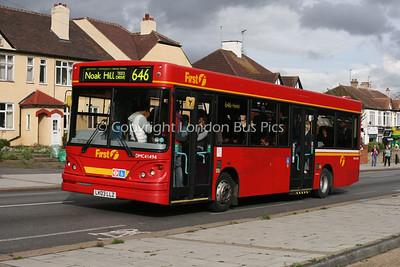 Route 646 - DMC41494, LK03LLZ, First London