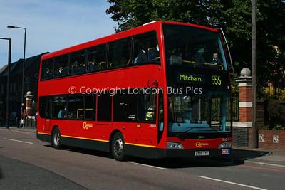 Route 655 - DOE54, LX09AYE, London General