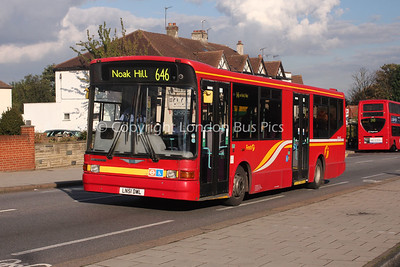 Route 646 - DML41427, LN51DWL, First London