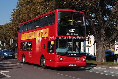 Route 657 - VLA96, LJ54BBX, Arriva London North