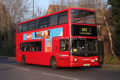 Route 602 - 17161, V161MEV, Stagecoach London