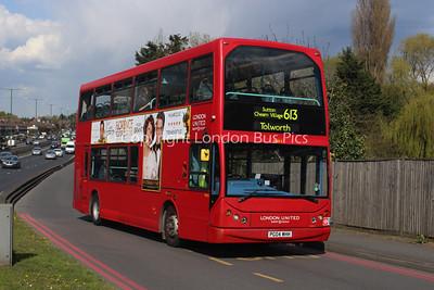 Route 613 - VLE5, PG04WHH, London United