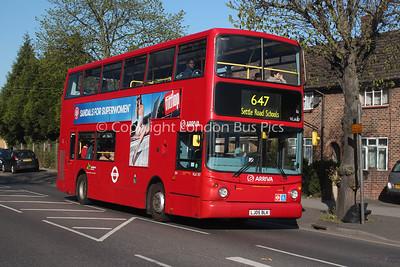 Route 647 - VLA107, LJ05BLK, Arriva London North