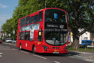 Route 657 - WVN52, BL61ADX, London General