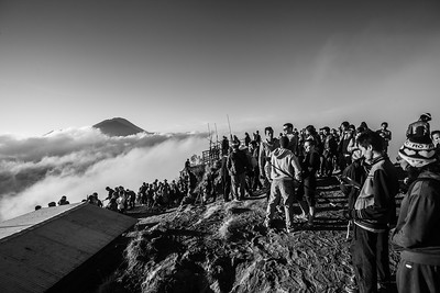 The Morning Crew At Mount Batur