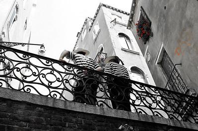 Taking A Break | Venice Gondola Drivers